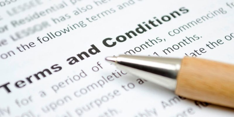How to write business terms and conditions – Marshall Freeman Blog